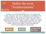 define the term totalitarianism
