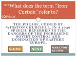 what does the term iron curtain refer to