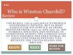 who is winston churchill