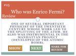 who was enrico fermi