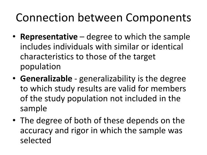Connection between Components
