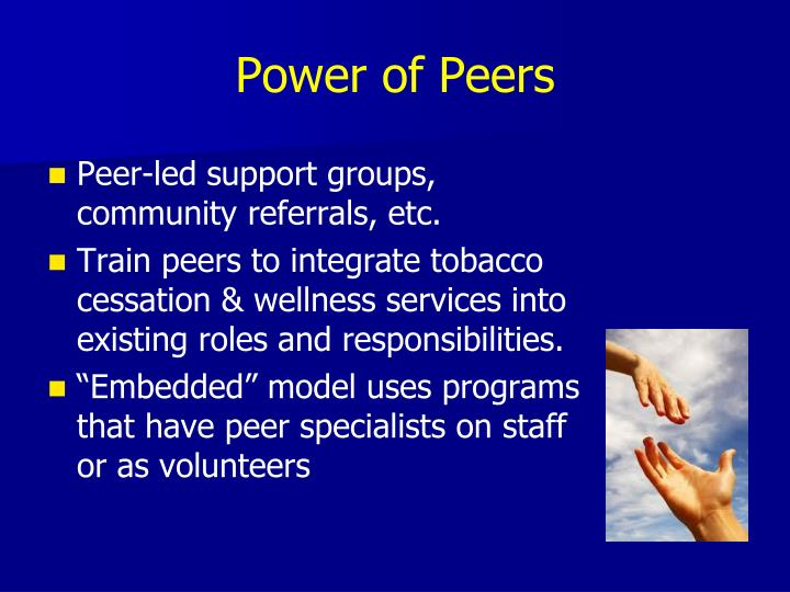 Power of Peers