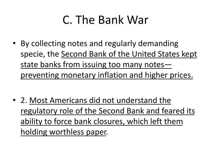 C. The Bank War
