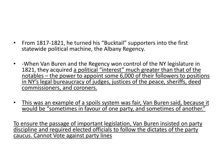 """From 1817-1821, he turned his """""""