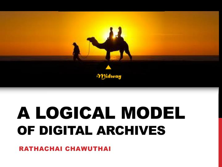 A logical model of digital archives