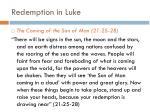 redemption in luke1