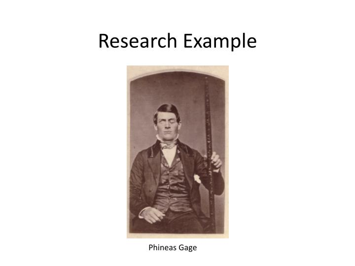 Research Example