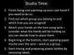 studio time6