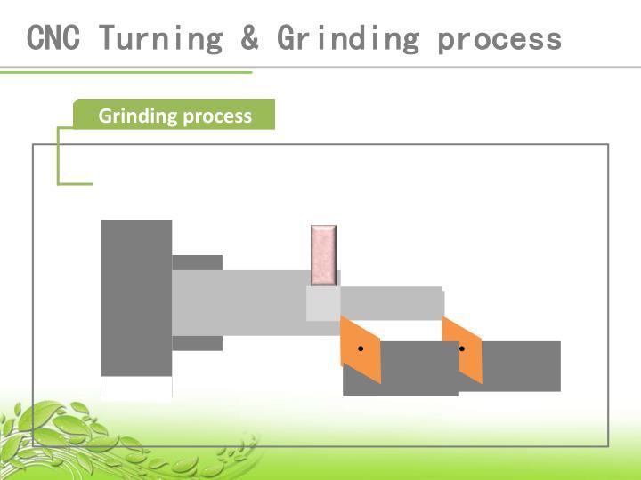 CNC Turning & Grinding process