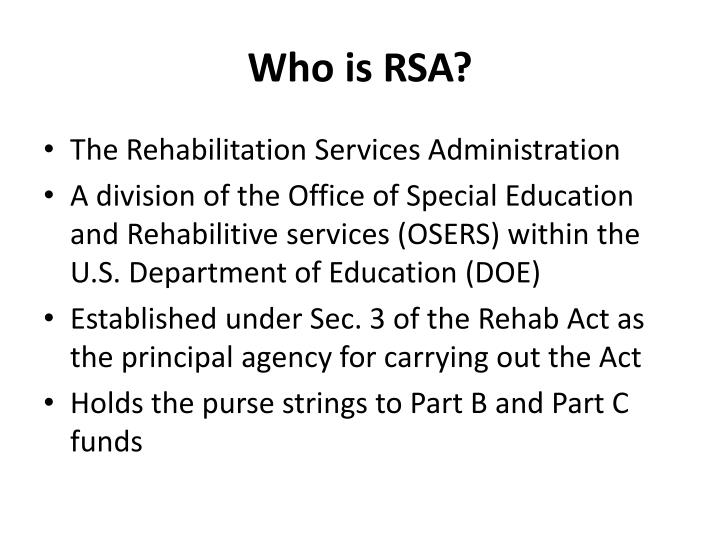 Who is rsa