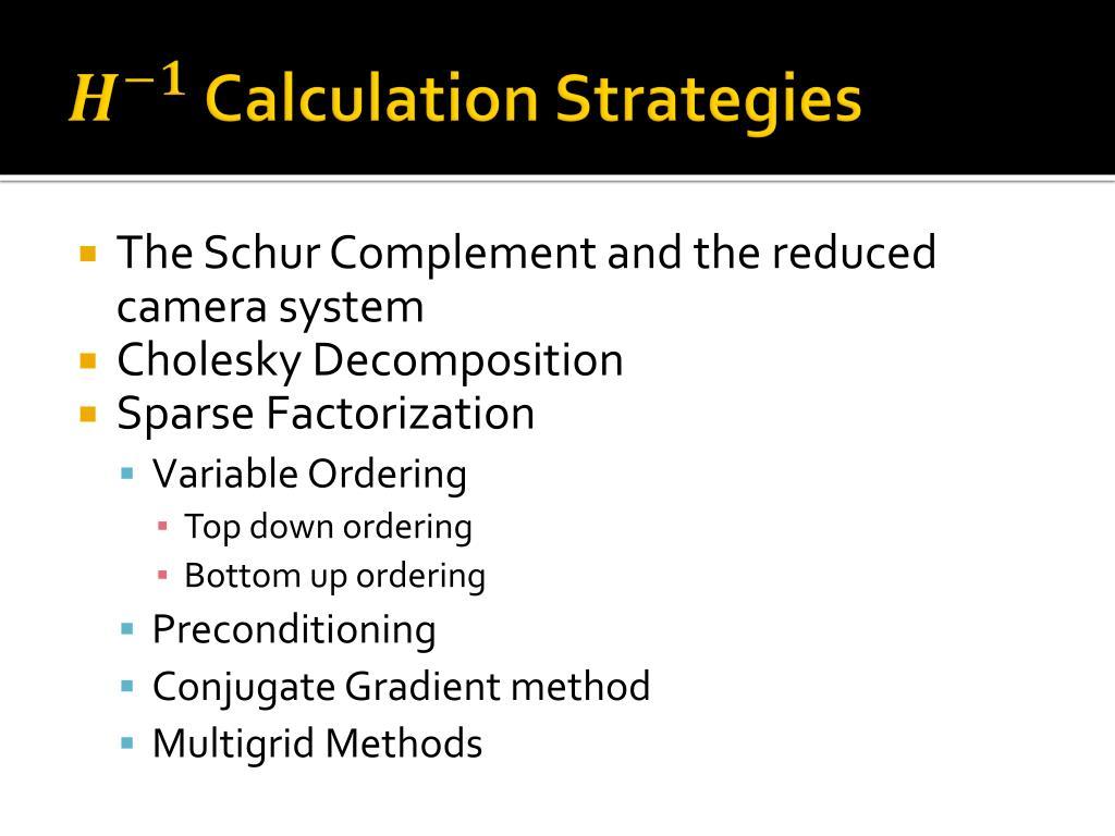 PPT - Bundle Adjustment : A Tutorial PowerPoint Presentation