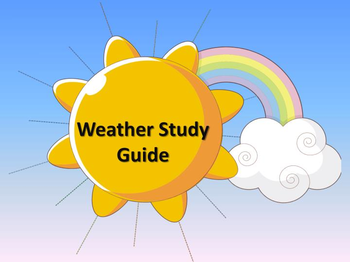 weather study guide n.