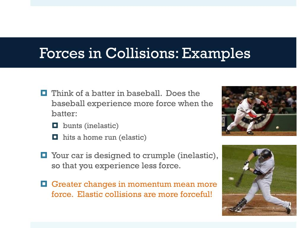 Ppt 6 3 Elastic And Inelastic Collisions Powerpoint Presentation