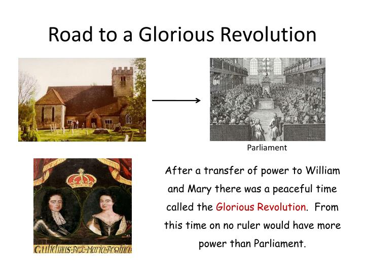 Road to a Glorious Revolution