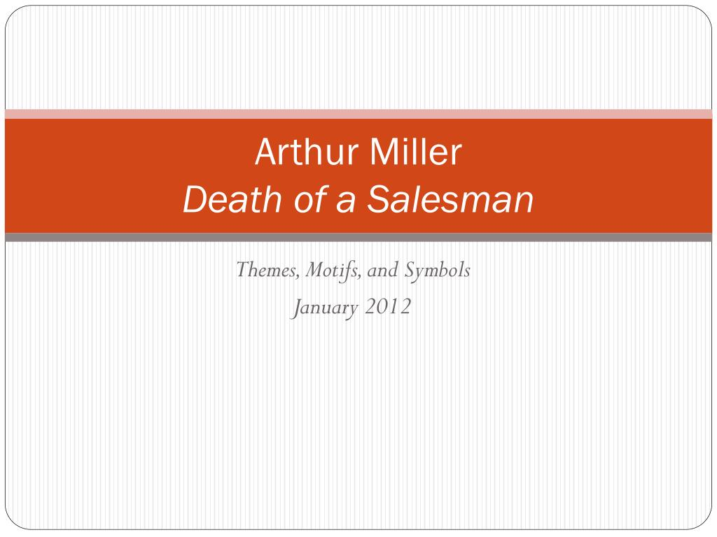 main theme of death of a salesman