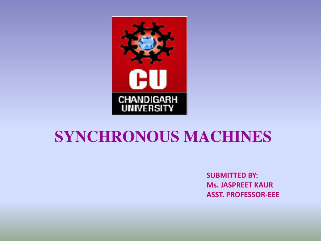 Ppt Synchronous Machines Powerpoint Presentation Id2321794 Short Circuit Ratio Of A Machine Its Significance N