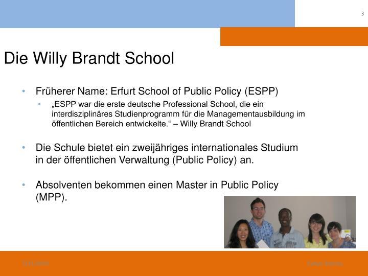 Die Willy Brandt School