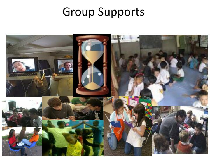 Group Supports