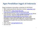 agen pendidikan inggris di indonesia