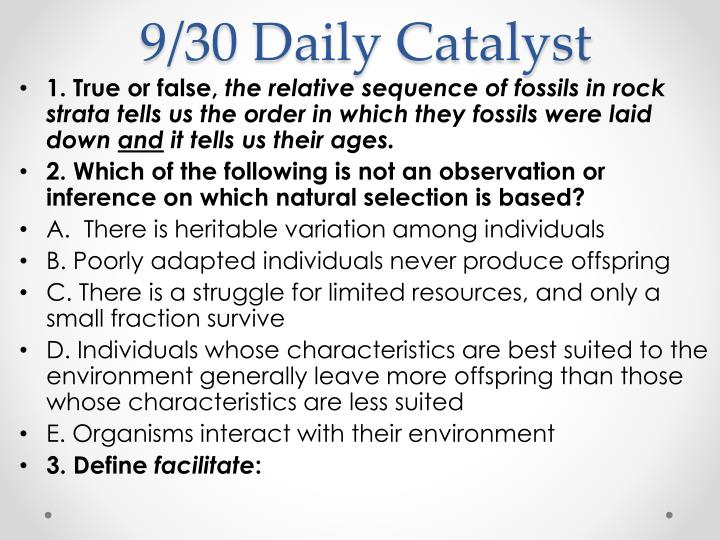 9 30 daily catalyst n.