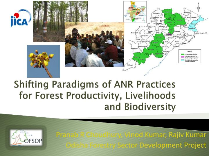 shifting paradigms of anr practices for forest productivity livelihoods and biodiversity n.