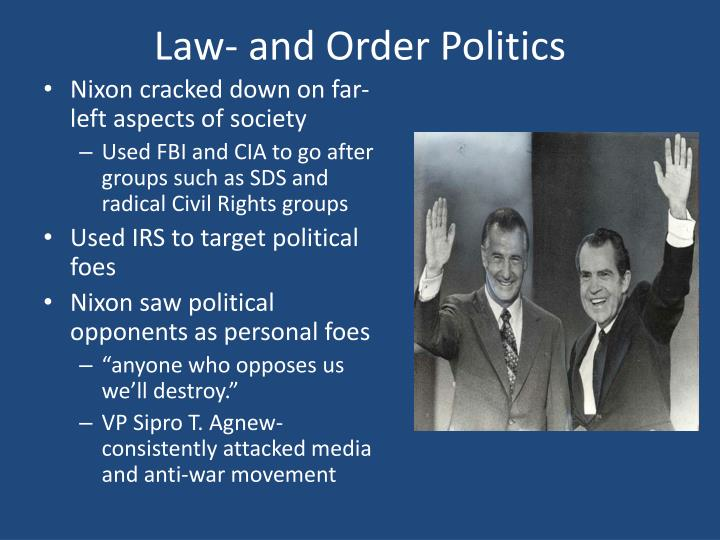 Law- and Order Politics