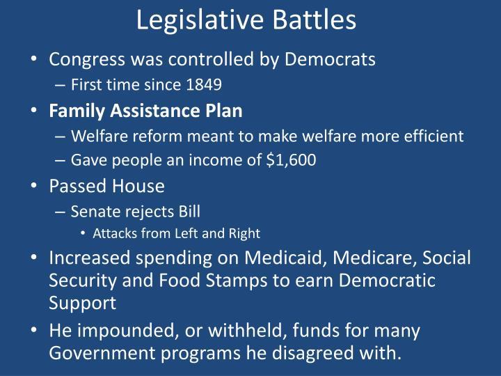 Legislative Battles