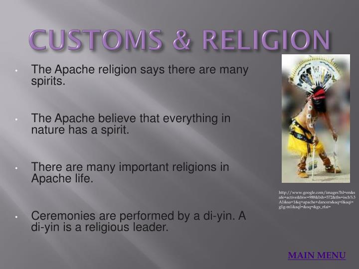 CUSTOMS & RELIGION