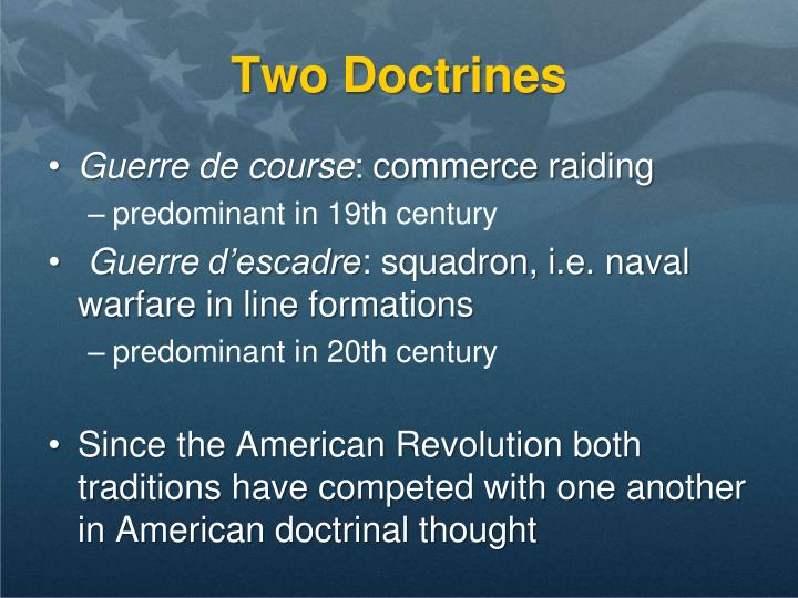 Two Doctrines