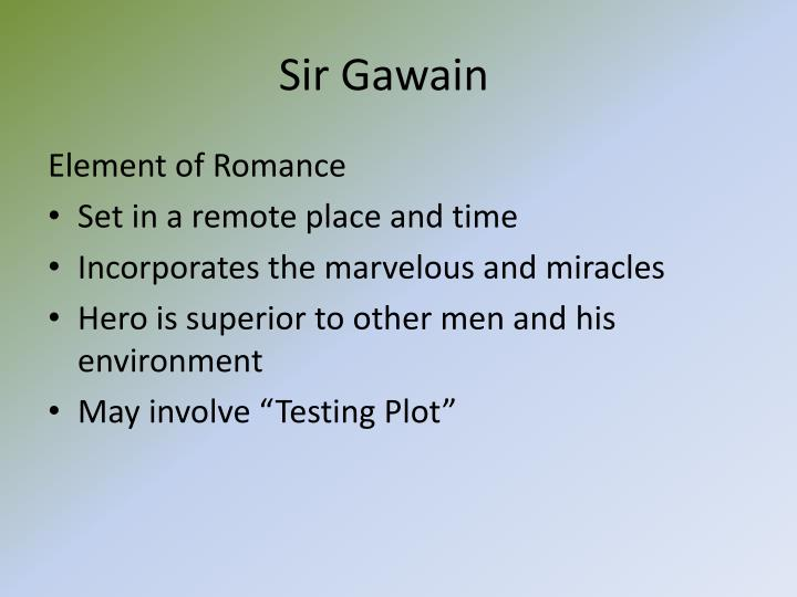 Ppt Sir Gawain And The Green Knight Powerpoint Presentation Id