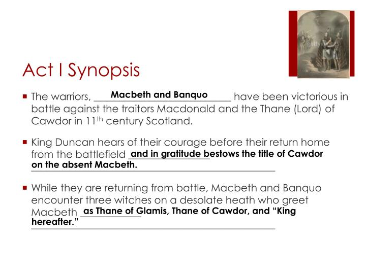 Act i synopsis