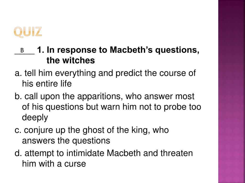 Ppt Macbeth Powerpoint Presentation Free Download Id 2322788