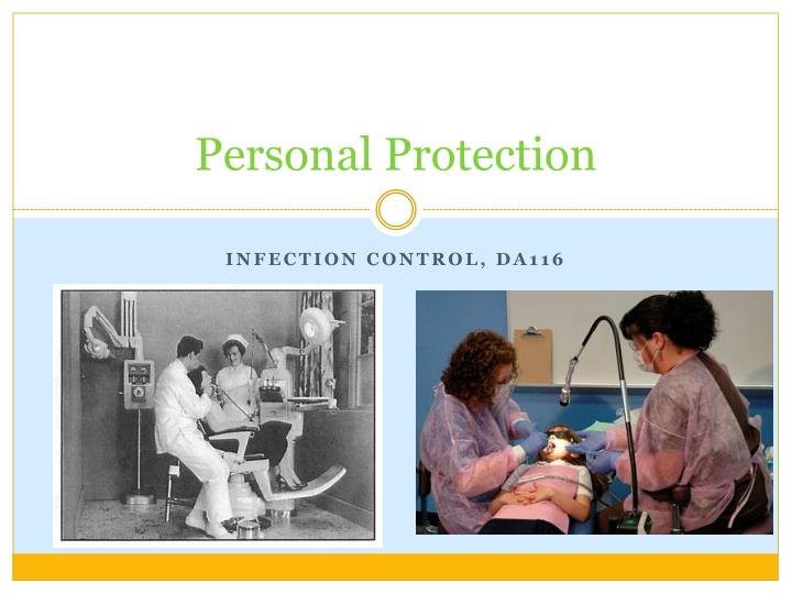 personal protection n.