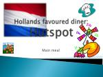 hollands favoured diner hutspot
