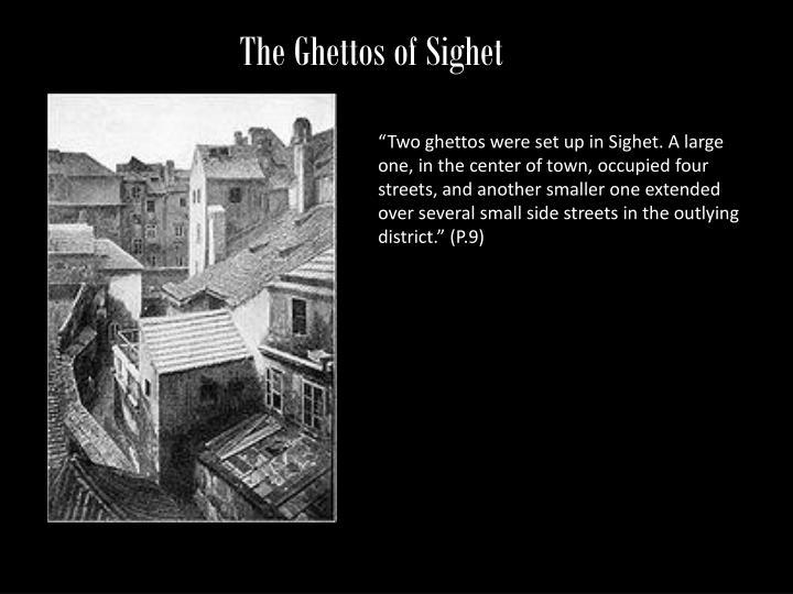 The Ghettos of