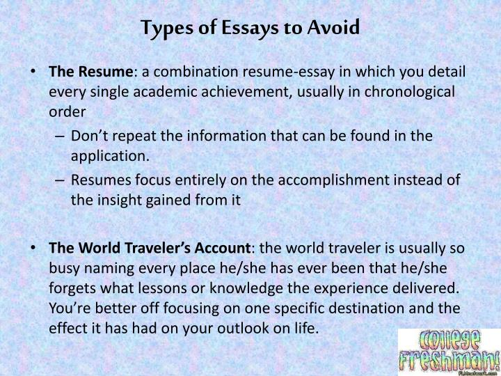college application essay webquest Dr allen grove is an alfred university english professor and a college admissions expert with 20 years of experience helping students transition to college many college applicants make the mistake of trying to include all of their accomplishments and activities in their application essays such.
