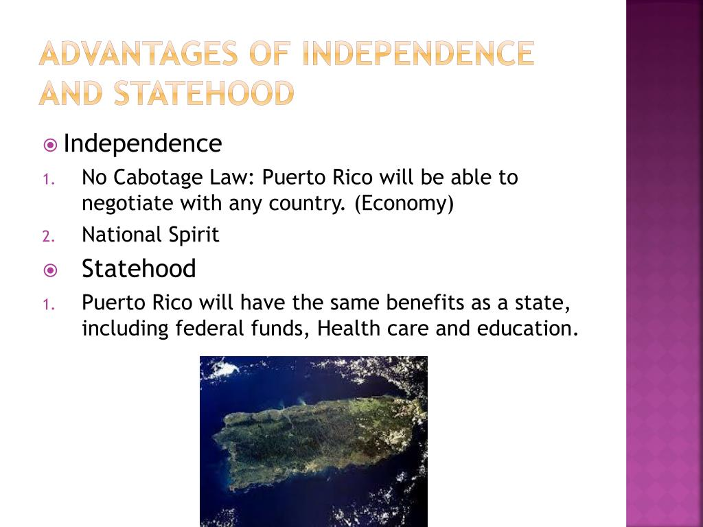 The Benefits of the Statehood for Puerto