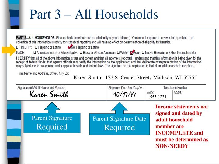 Part 3 – All Households