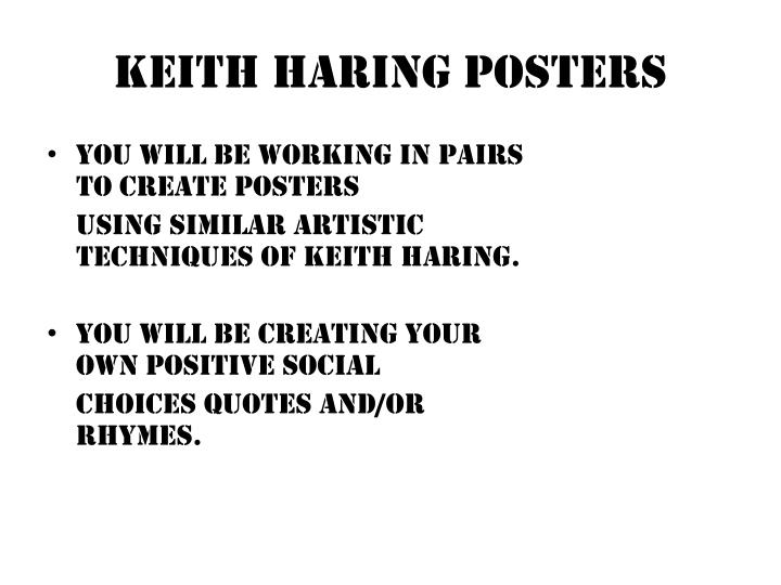 PPT - Keith Haring Posters PowerPoint Presentation - ID:2323815