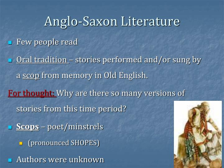 the depiction of women roles in anglo saxon literature