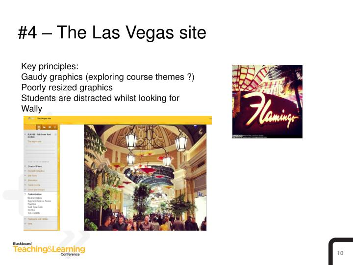 #4 – The Las Vegas site