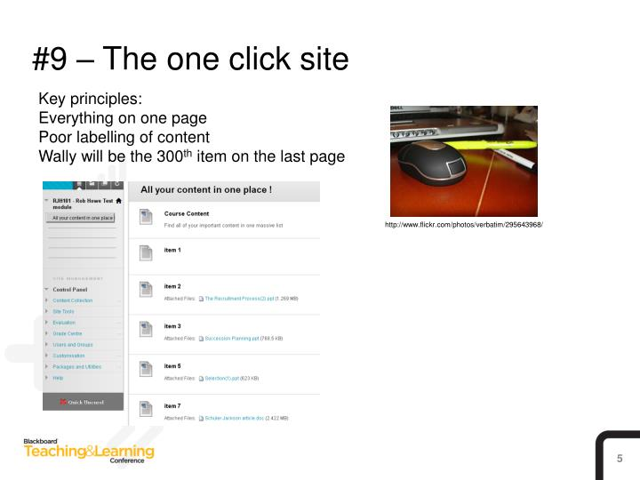 #9 – The one click site