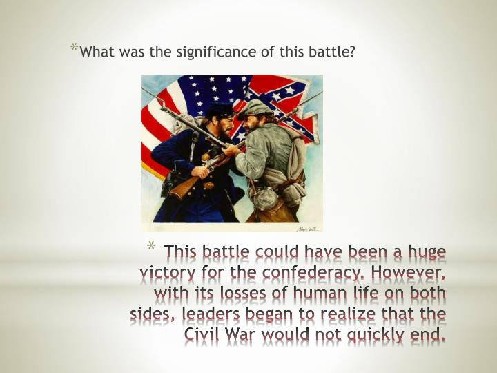What was the significance of this battle?