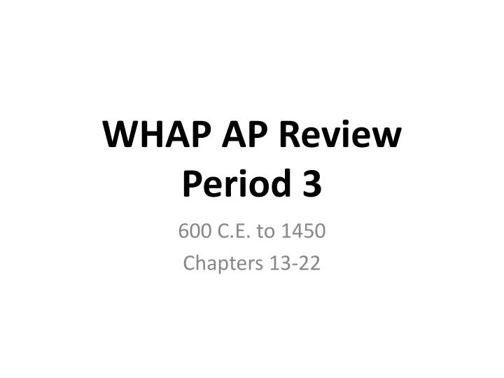 whap midterm study guide Study ap world history unit 1 study guide apwhpdf notes from diego b.