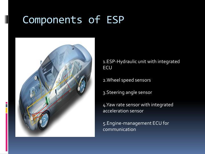 Components of ESP