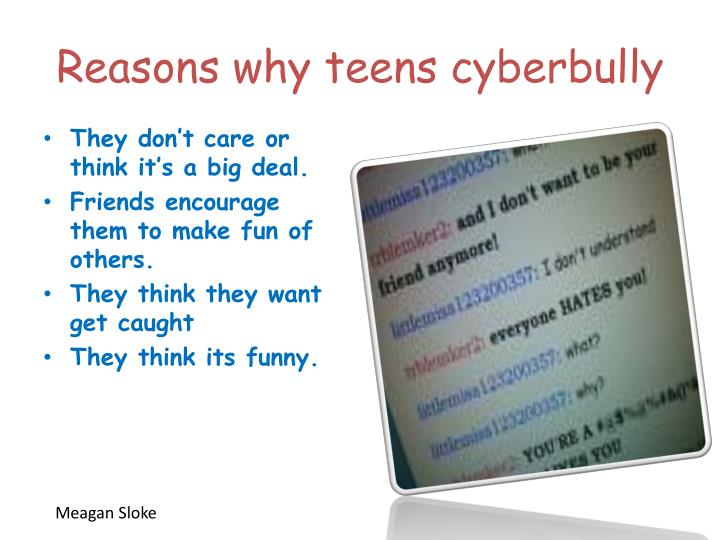 Reasons why teens