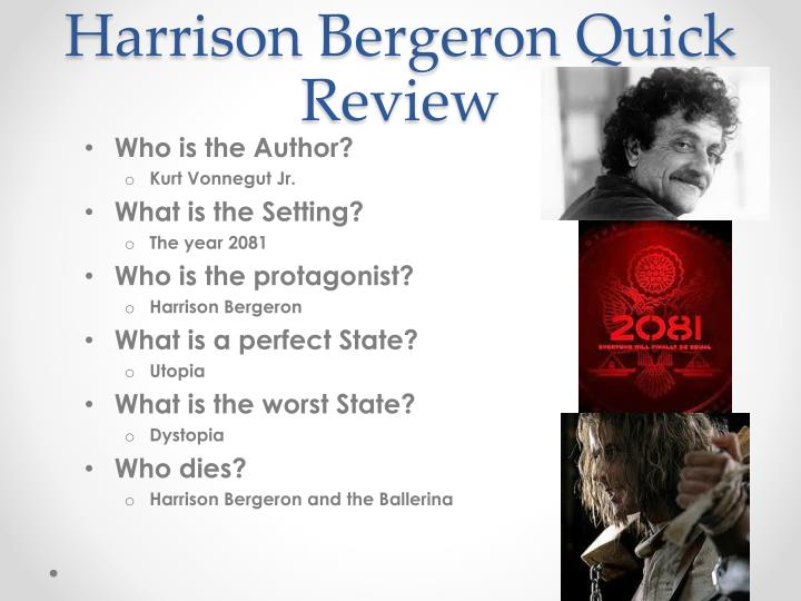 who wrote harrison bergeron