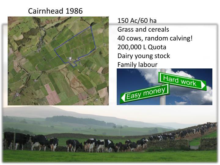 Cairnhead 1986