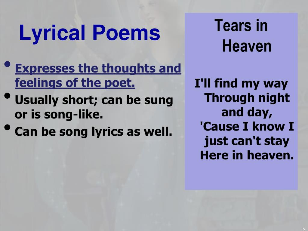 PPT - Poetry PowerPoint Presentation - ID:2325521