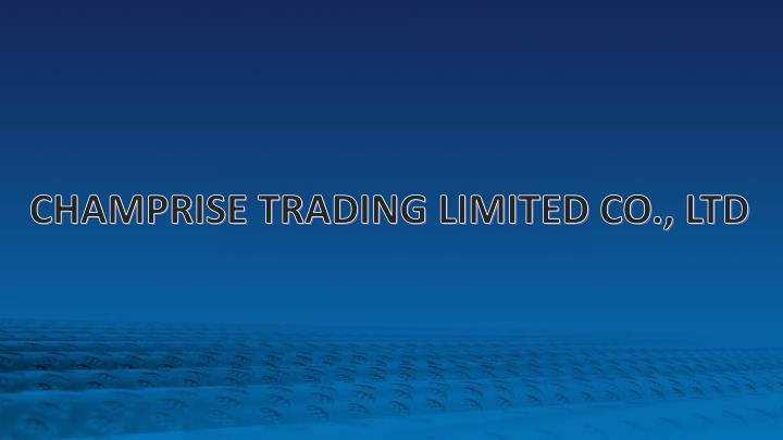 CHAMPRISE TRADING LIMITED CO., LTD